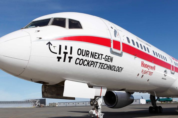 757 Connected Aircraft