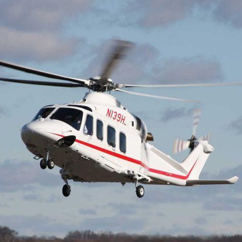 莱昂纳多直升机AW139