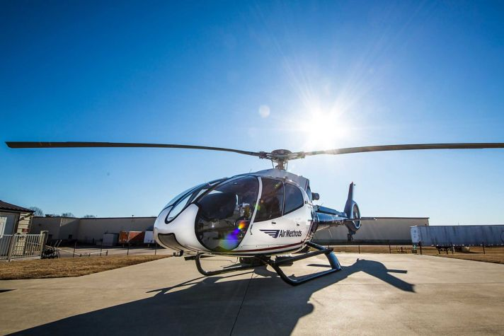 AirMethods Helicopter