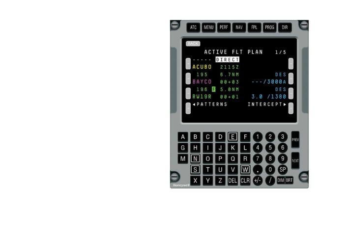 CD 830 Control Display Unit