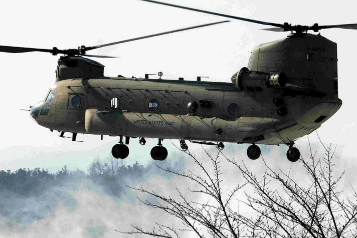 33 Things to Know About Honeywell CH-47 Chinook Helicopter