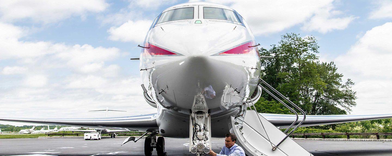 Business Jet Light Inspection
