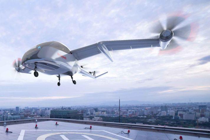 UAM Aircraft Landing