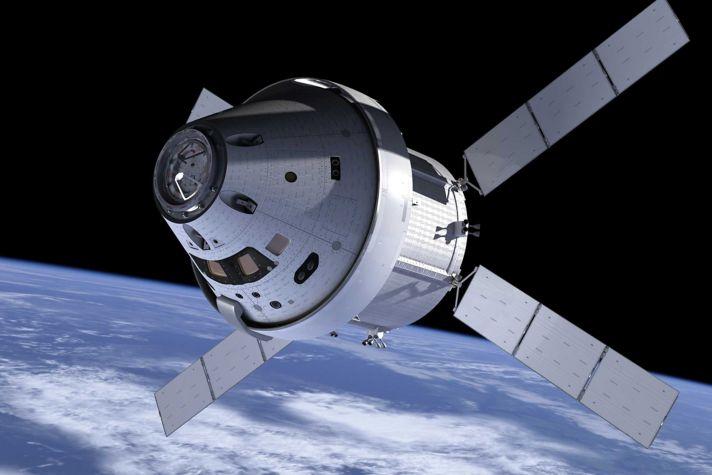 Orion In Orbit