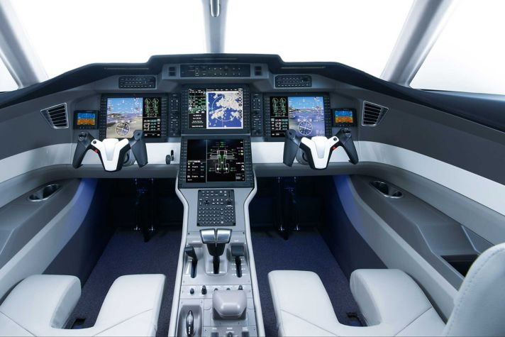 PC-24 Flight Deck