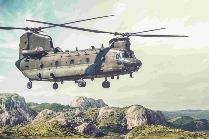 T55 714C CH-47 Helicopter