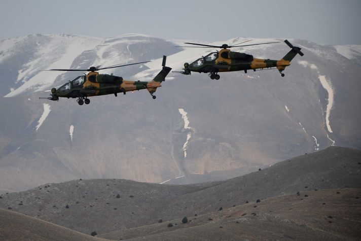 TAI T129 ATAK Helicopter