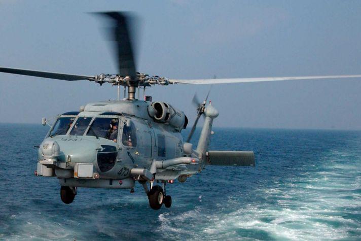 Sea Hawk Helo