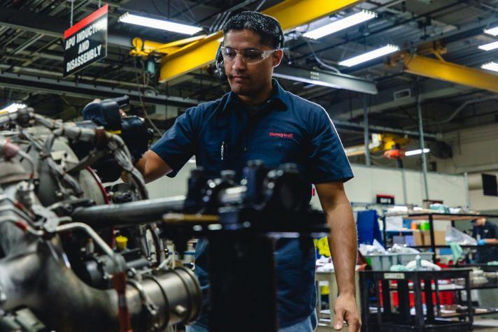 Airplane Engine Maintenance