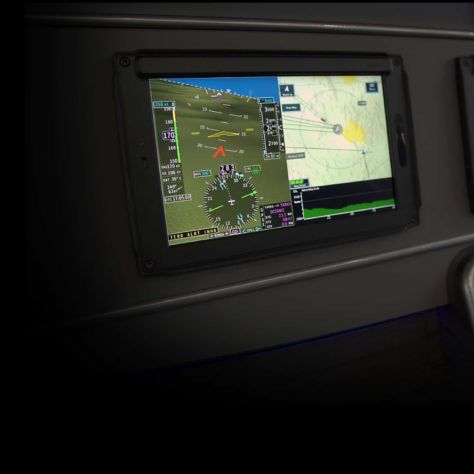 AeroVue Touch Primary Flight Display