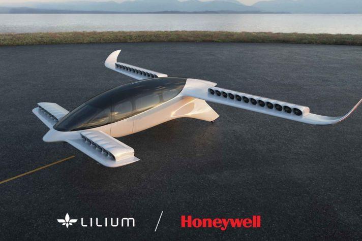 Lilium 7-Seater Jet