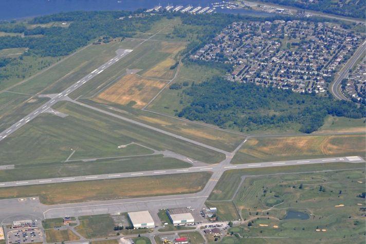 Runway aerial