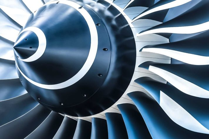 Turbine closeup