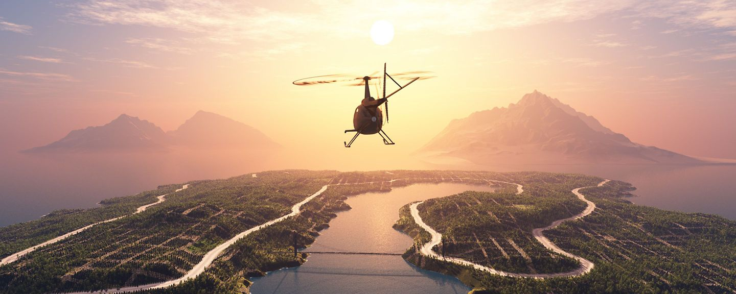 Welcome to the Age of the Connected Helicopter