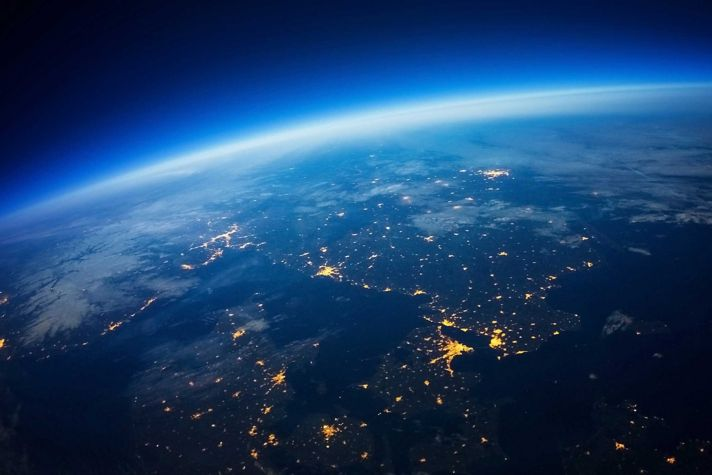 era of high speed connectivity earth from space