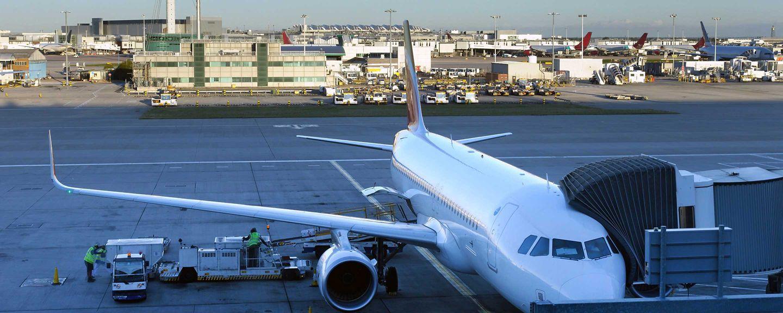 Blockchain technology Plane terminal