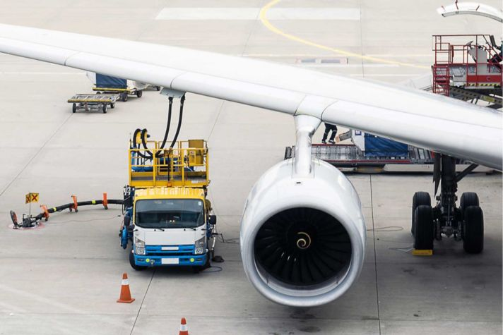 Fuel Efficiency Plane Runway
