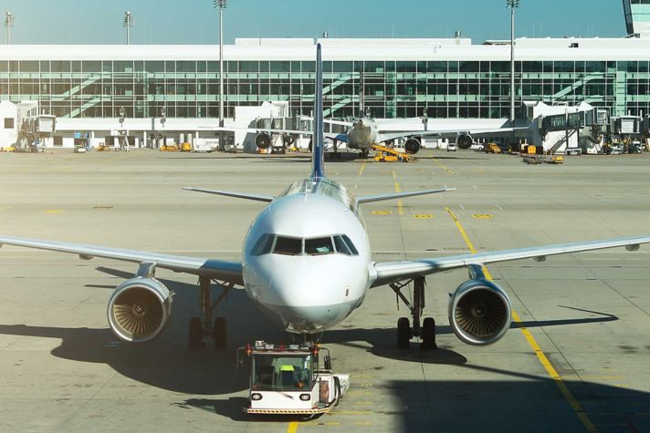 Plane and terminal
