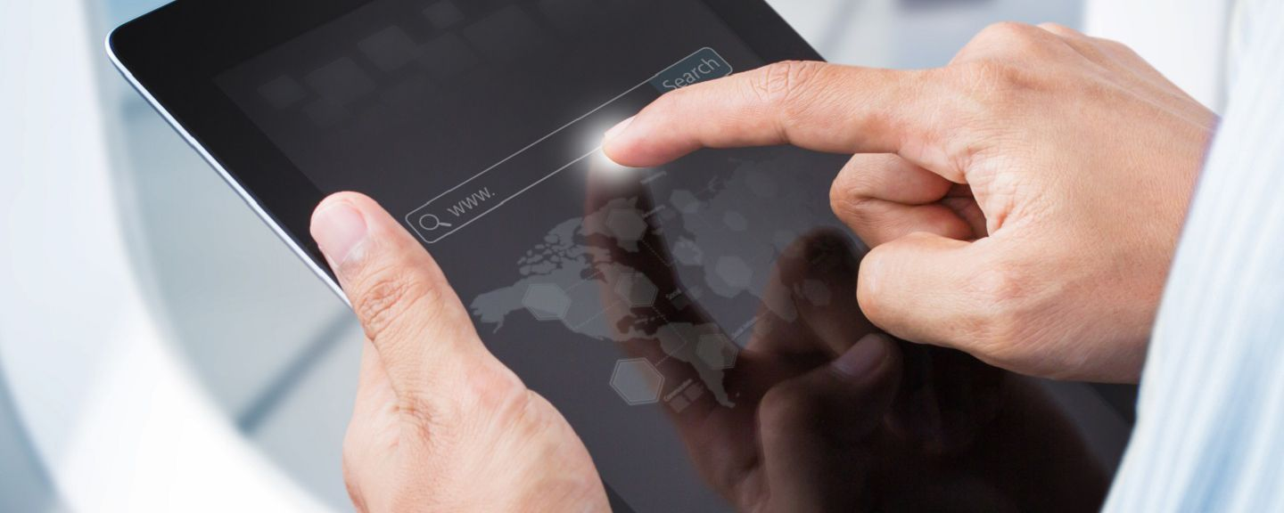 Tapping tablet