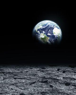 View outside Earth