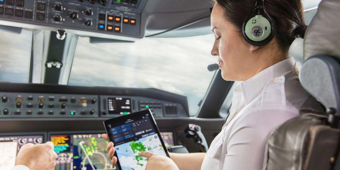 G650 PlaneView Flightdeck