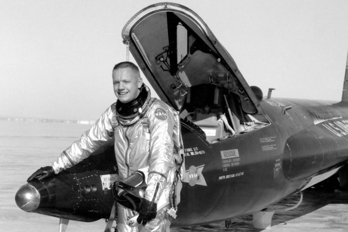 Neil Armstrong - X-15