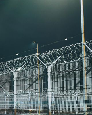 Image of security fence
